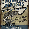 Churning Waters Guide Service Print by JQ Licensing