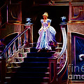 Cinderella enters the ball Print by Darleen Stry