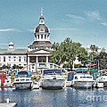 City Hall Kingston Ontario Canada Poster by Peggy Holcroft
