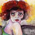 Clara Bow Vintage Movie Stars The It Girl Flappers Print by Ginette Fine Art LLC Ginette Callaway