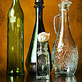 Classy Glass Print by Peter Chilelli