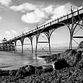 Clevedon Pier Poster by Photographer Nick Measures