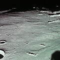 Close-up Of The Craters On The Surface Of The Moon Print by Stockbyte