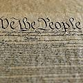 Close View Of The Us Constitution Poster by Kenneth Garrett