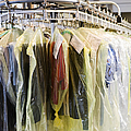 Clothing at Dry Cleaners Print by Andersen Ross
