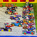 Clown car racing game Poster by Garry Gay