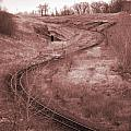 Coal Line S Print by Jame Hayes