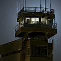 Cob Speicher Control Tower Print by Terry Moore
