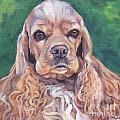 Cocker spaniel Poster by Lee Ann Shepard