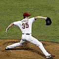 Cole Hamels Print by Gerry Mann