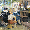 COLONIAL SMOKING PROTEST Print by Granger