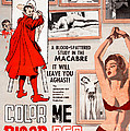 Color Me Blood Red, Gordon Oas-heim Print by Everett