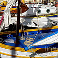 Colorful Boats Poster by Lainie Wrightson