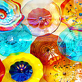 Colorful Plates Print by Artist and Photographer Laura Wrede