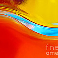 Colorful Wave Poster by Carlos Caetano
