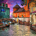 Colors of Venice Poster by Joel Payne