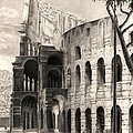 Colosseo Poster by Norman Bean