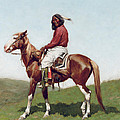 Comanche Brave Print by Frederic Remington