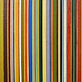 Comfortable Stripes Poster by Michelle Calkins