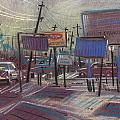 Commercial Industrial Print by Donald Maier