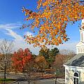 Concord Massachusetts in Autumn Print by John Burk