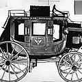 Concord Stagecoach Print by Photo Researchers, Inc.