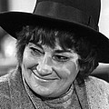 Congresswoman Bella Abzug At Press Poster by Everett