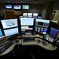 Control Room Center For Emergency Poster by Terry Moore