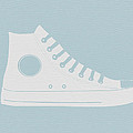 Converse Shoe Poster by Naxart Studio