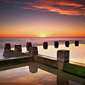 Coogee Beach At Early Morning,sydney Print by Noval Nugraha Photography. All rights reserved.