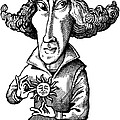 Copernicus, Caricature Poster by Gary Brown