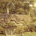 Cottage at Farringford Isle of Wight Poster by Helen Allingham