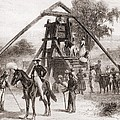 Cotton Press In Operation In The South Poster by Everett