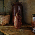 Country Cupboard Print by Robin-lee Vieira