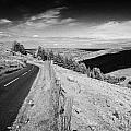 country mountain road through glenaan scenic route glenaan county antrim northern ireland  Print by Joe Fox