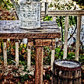 Country Porch Poster by Kathy Jennings