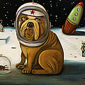 Space Crash Poster by Leah Saulnier The Painting Maniac