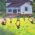 Cricket Print by Andrew Macara