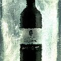 Cubist Red Wine Poster by Andrea Barbieri