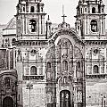 Cusco Cathedral Print by Darcy Michaelchuk