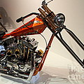 Custom Motorcycle Chopper . 7D13319 Poster by Wingsdomain Art and Photography