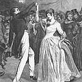 DANCE, 19TH CENTURY Print by Granger