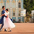 Dance at Saint Catherine Palace Poster by David Smith