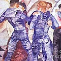 Dancing Sailors Print by PG REPRODUCTIONS