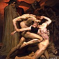Dante and Virgil in Hell Poster by PG REPRODUCTIONS