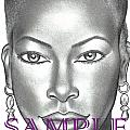 DARK  and LOVELY Print by Rick Hill