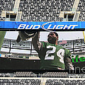 Darrelle Revis - NY Jets Poster by Paul Ward