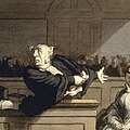 DAUMIER: ADVOCATE, 1860 Print by Granger
