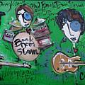 Davy Knowles and Back Door Slam Print by Laurie Maves