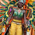 DC Caribbean Carnival No 16 Print by Irene Abdou